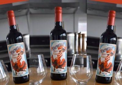 3 bouteilles de vin Rachelle