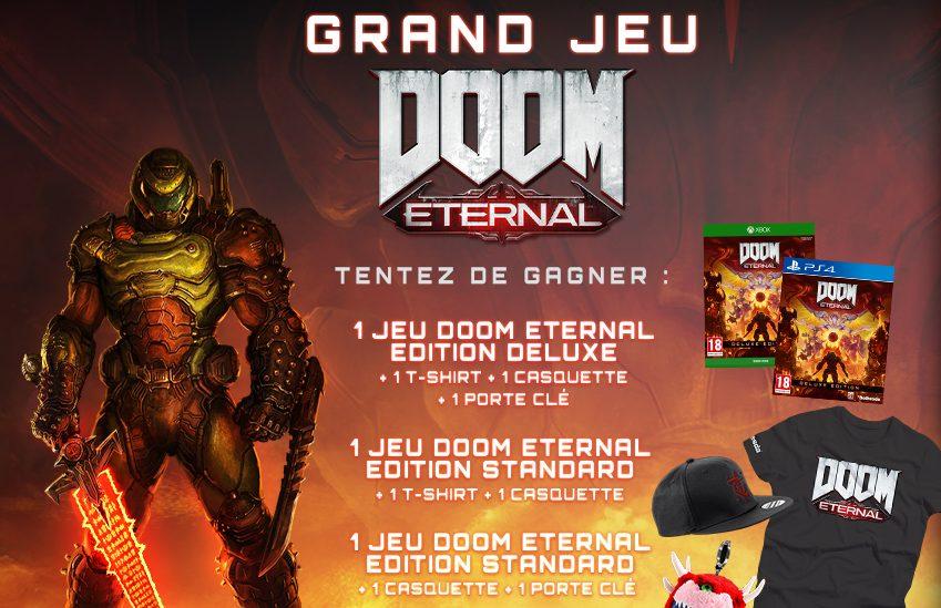 3 jeux vidéo Doom Eternal Edition