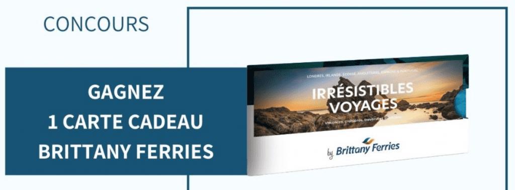 1 carte cadeau Britanny Ferries de 300 euros