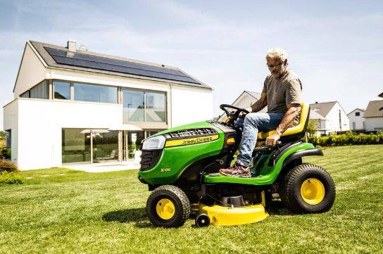 1 tracteur de pelouse modèle X126