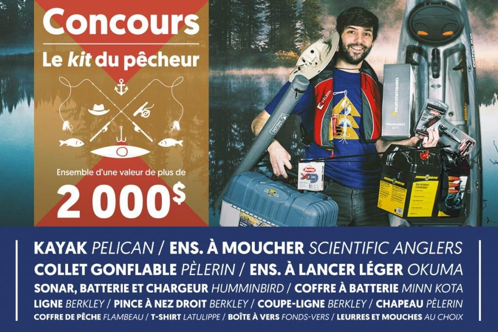 Un Kit Du Pêcheur D'une Valeur De 2000$