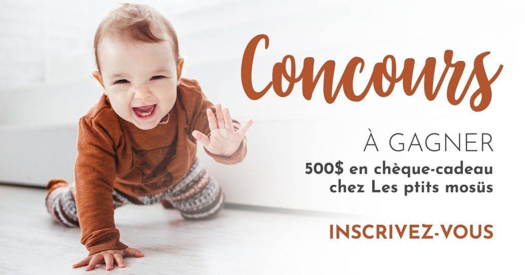 500$ Chez Les Ptits Mosüs À Gagner