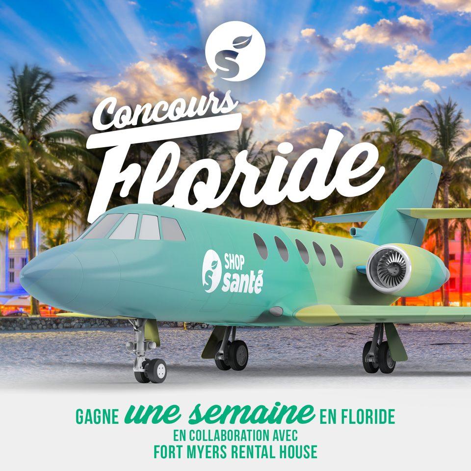Concours Québec - Gagnez une semaine de vacances en Floride