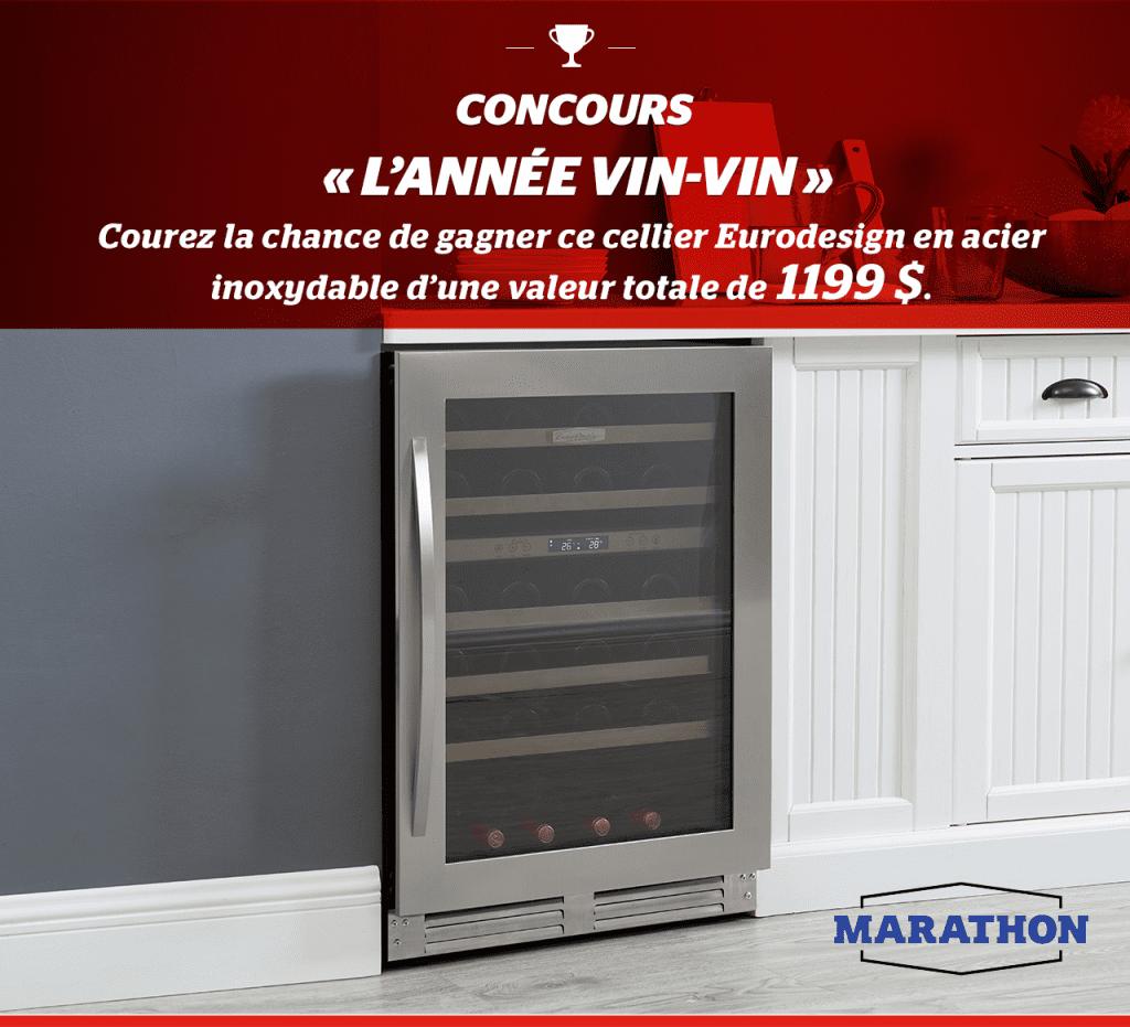 Concours Québec - Un Cellier Eurodesign par Marathon