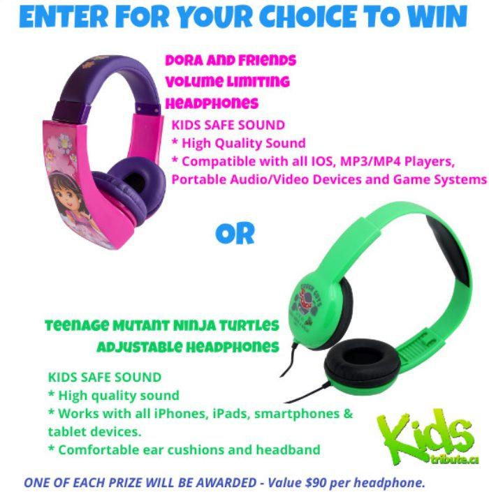 Ecouteurs pour enfants de vorte choix