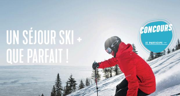 Un séjour de ski pour 4 personnes