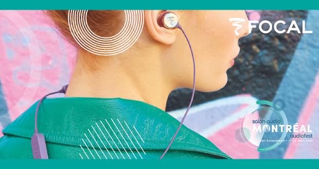 Une paire d'écouteurs sans-fil Sphear de Focal
