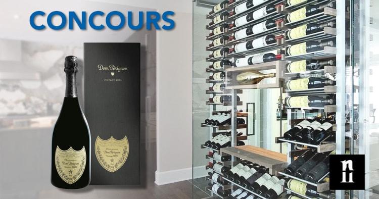 Gagnez une bouteille de champagne Dom Pérignon
