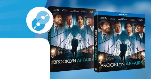 50 blu-ray et 50 DVD du film Brooklin Affairs