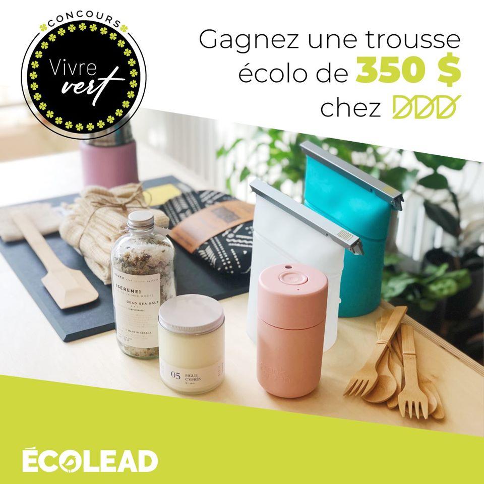 350 $ En Produits Écolos Dédié Au Design Durable