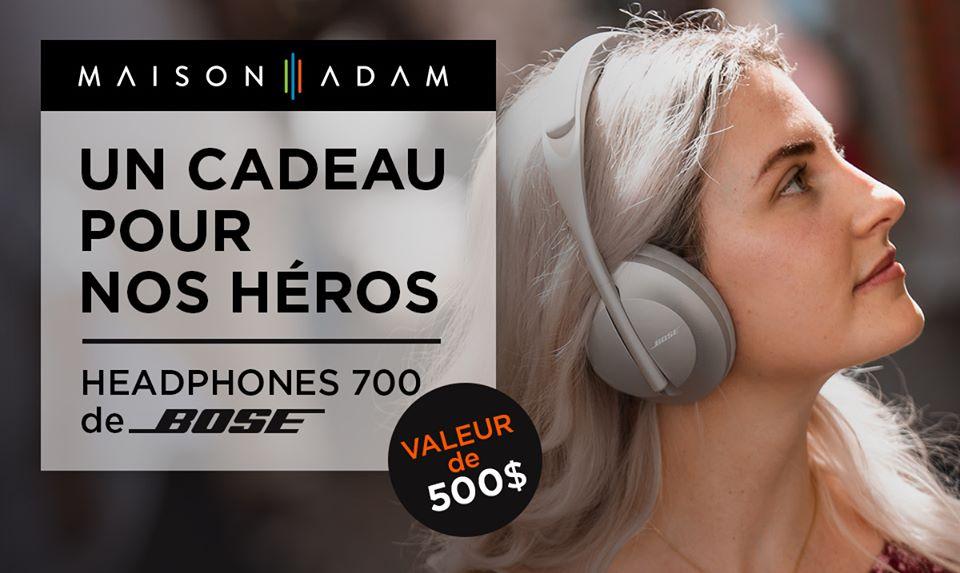 Casques d'écoute Headphone 700 de Bose