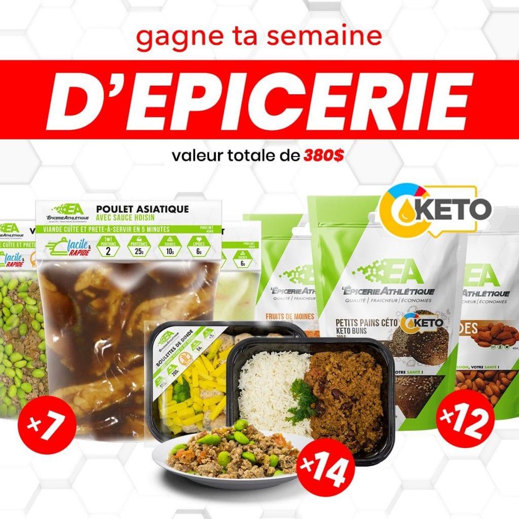 Concours Québec - Gagnez Une Semaine D'épicerie