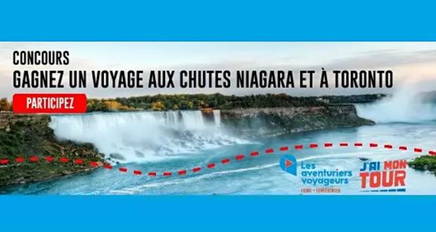 Gagnez un voyage aux chutes du Niagara et à Toronto