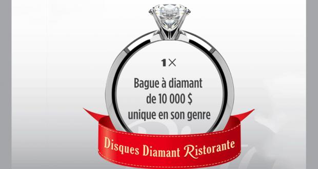 Gagnez une bague à diamant de unique en son genre
