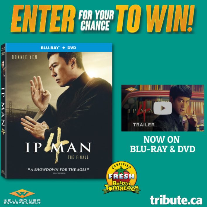 Ip Man 4 The Finale Blu-ray Contest