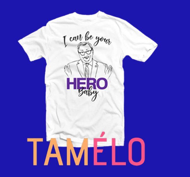 Gagnez votre t-shirt a l'image de Horacio Arruda