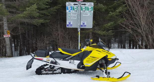 Voyage pour 2 en motoneige au Nouveau-Brunswick