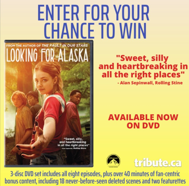 Looking For Alaska Dvd Contest