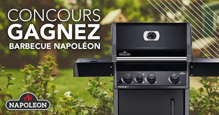 Gagnez Un Barbecue Napoléon à gaz