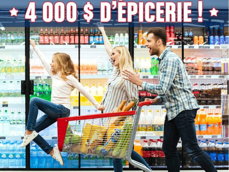 Remax Évolution Vous Offrent 4 000 $ D'épicerie