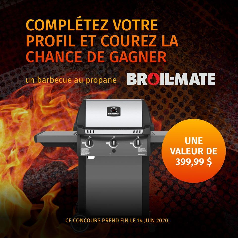 Un barbecue au propane Broil-Mate