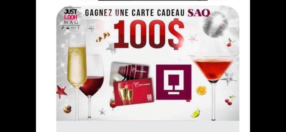 Concours Québec - 2 Carte cadeaux de 100$ chacune
