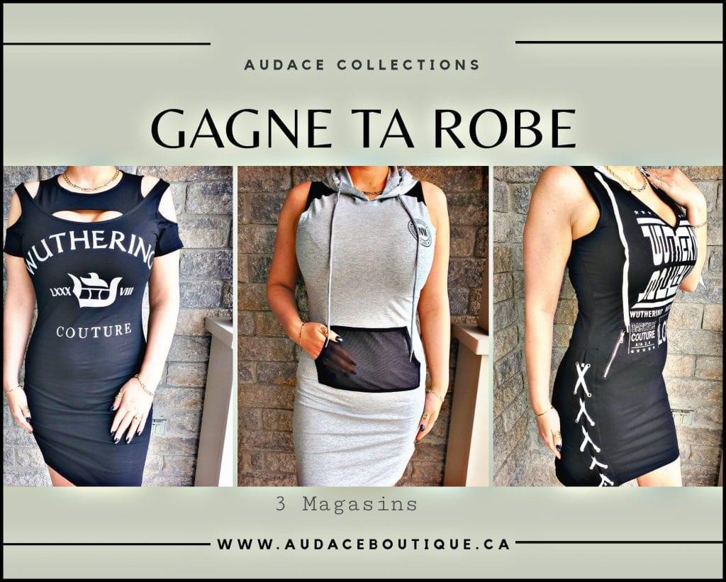 Concours Québec - Gagne une robe de ton choix