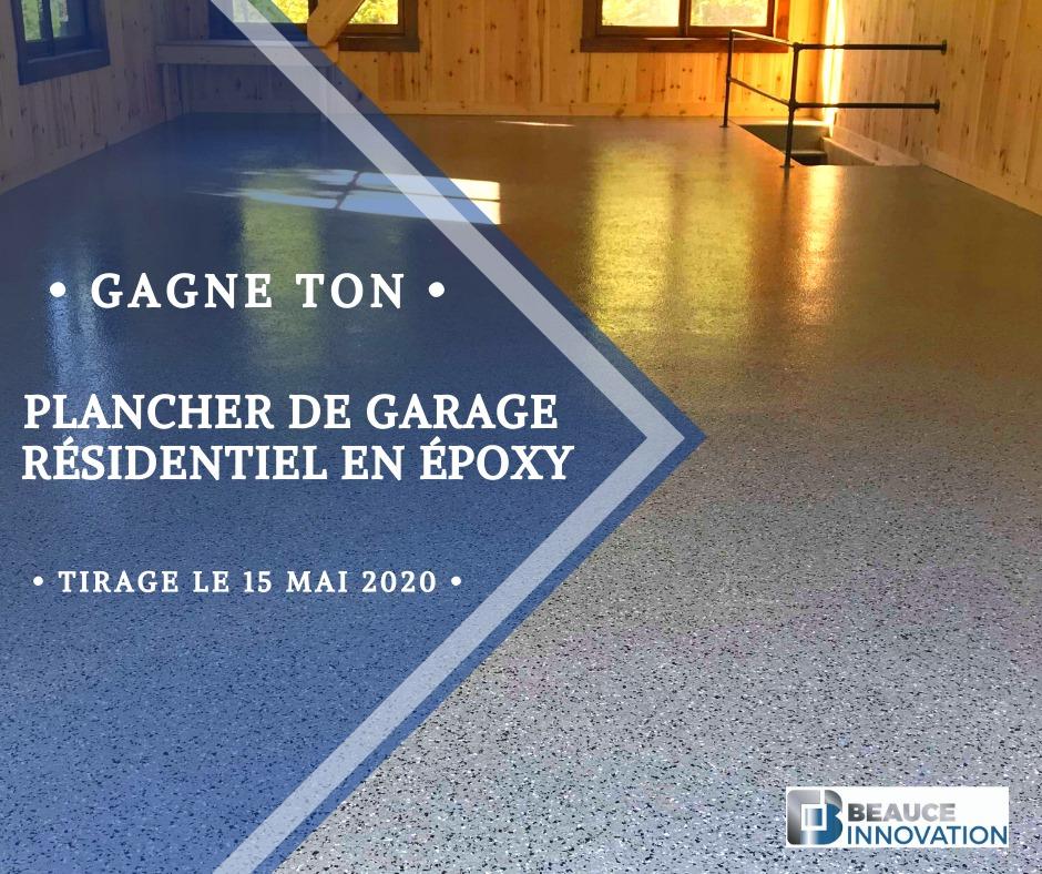 Concours Québec - Plancher de garage résidentiel en époxy