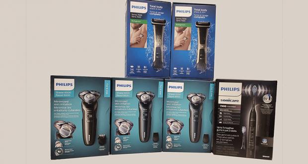 Des outils de soins personnels de Philips