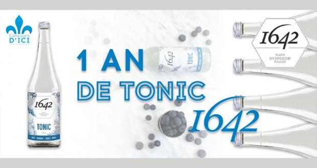 Gagnez un an d'eau de tonique 1642