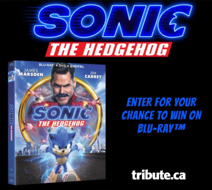 Chance De Gagner Sonic The Hedgehog Sur Blu-ray