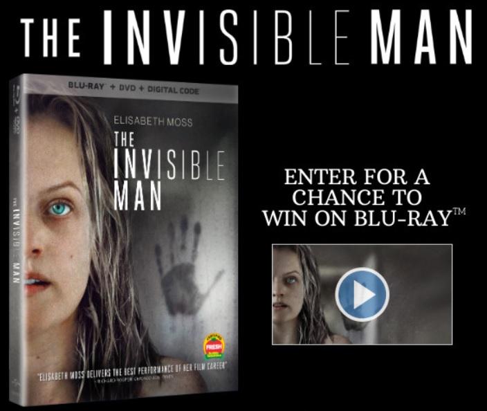 Chance De Gagner L'homme Invisible Sur Blu-ray