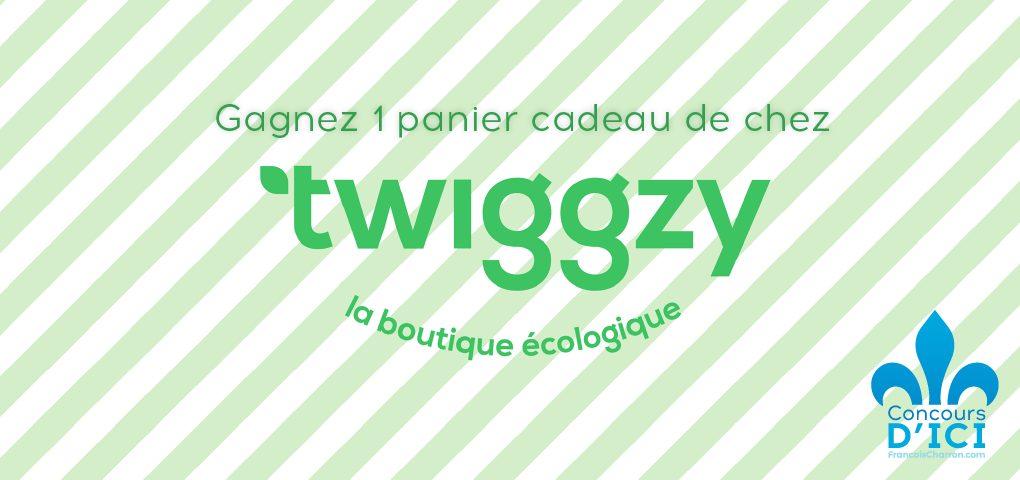 Panier cadeau boutique écologique Twiggzy
