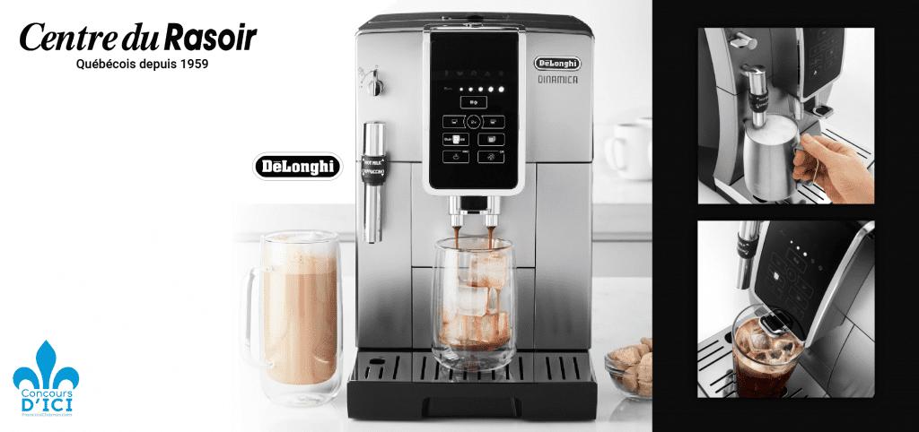 Gagnez une machine espresso automatique DINAMICA