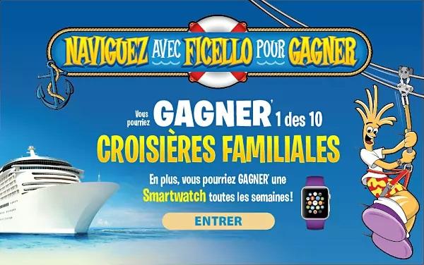Concours Québec – Gagnez 1 des 10 croisières familiales