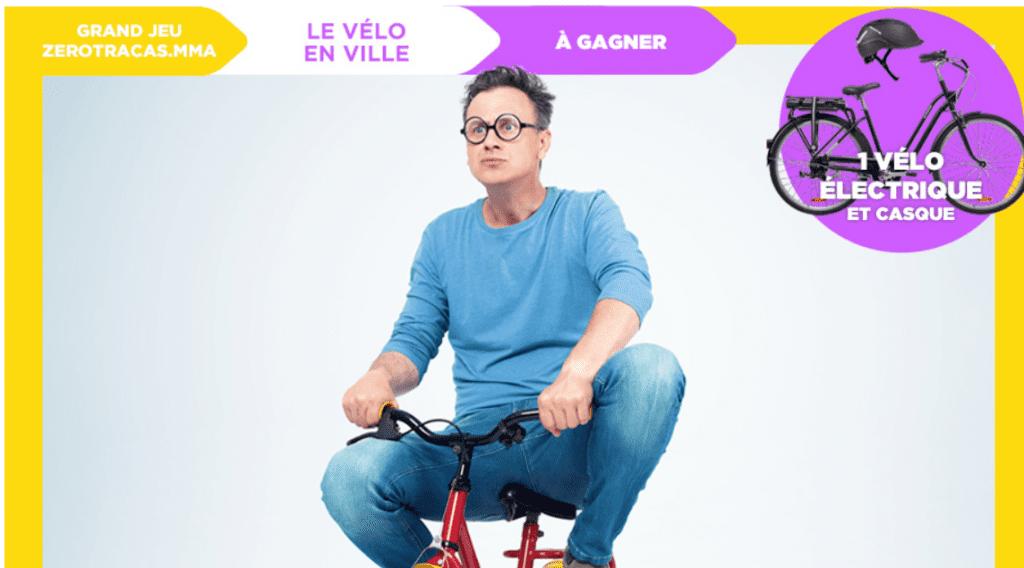 Gagnez 1 vélo électrique avec 1 casque
