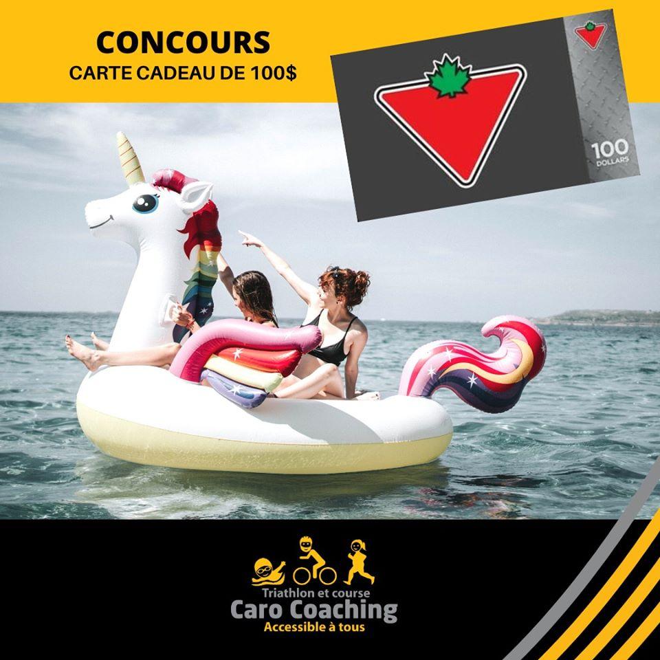 Carte cadeau de 100$ Canadian Tire