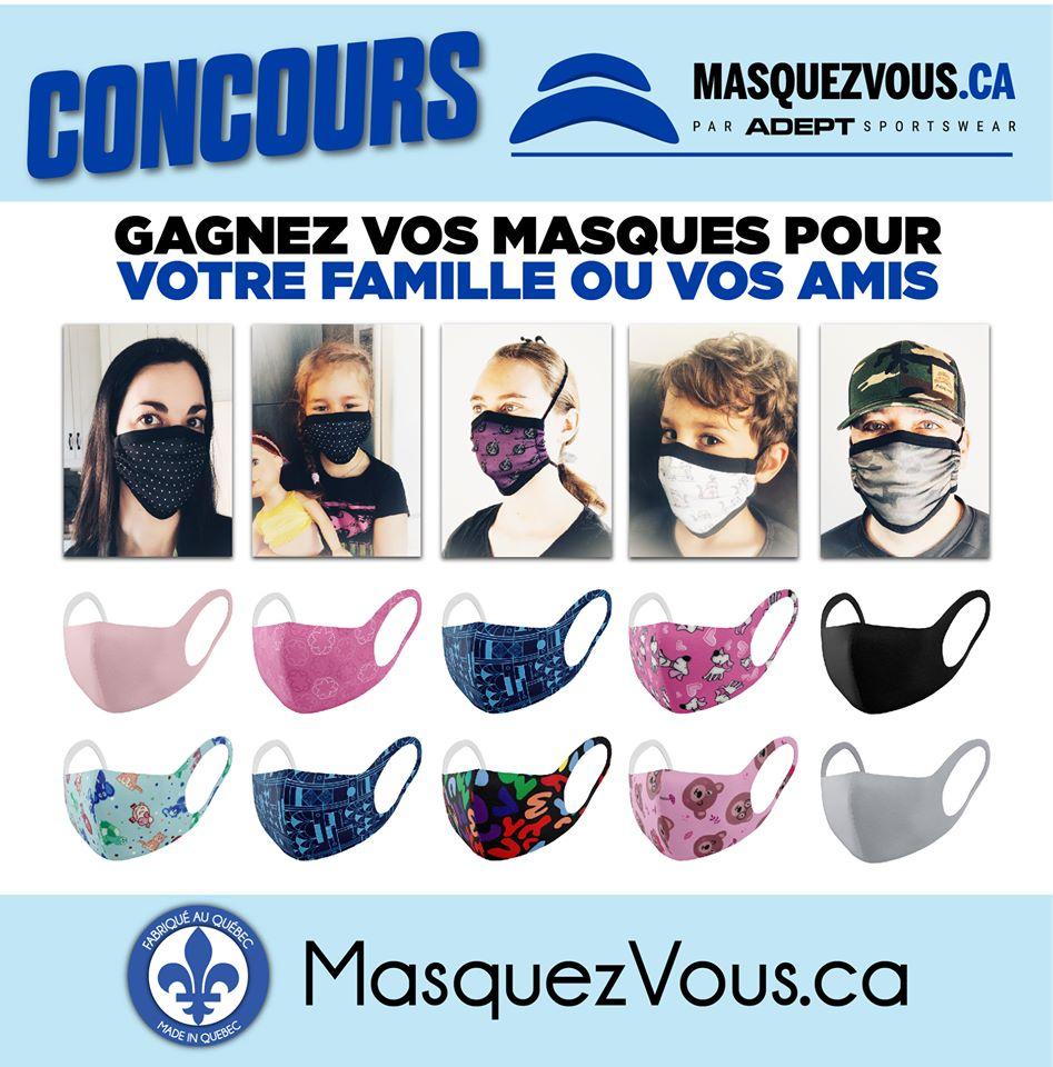 Gagnez Vos Masques Pour Toute La Famille Ou Vos Amis