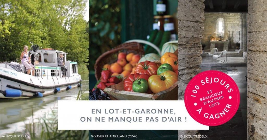 10 séjours dans le Lot-et-Garonne