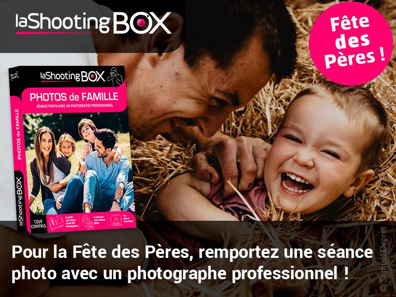 """10 Coffrets Cadeaux Lashootingbox """"Séance Photo"""""""