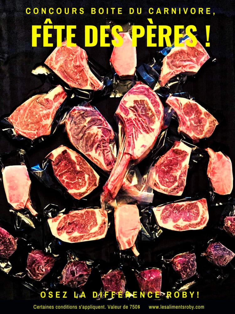 Une Boite Carnivore Platinum Roby
