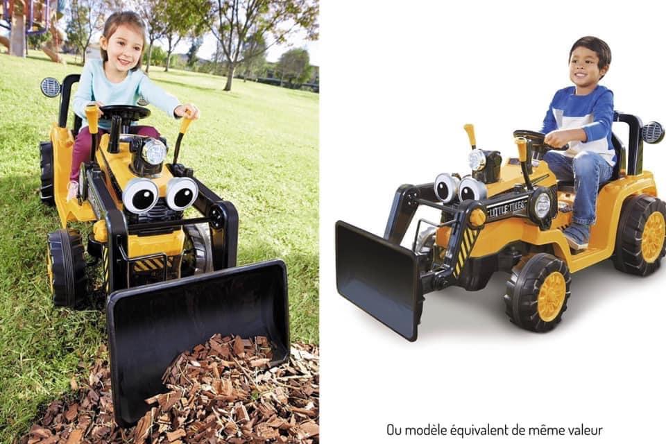 Concours tracteur enfant