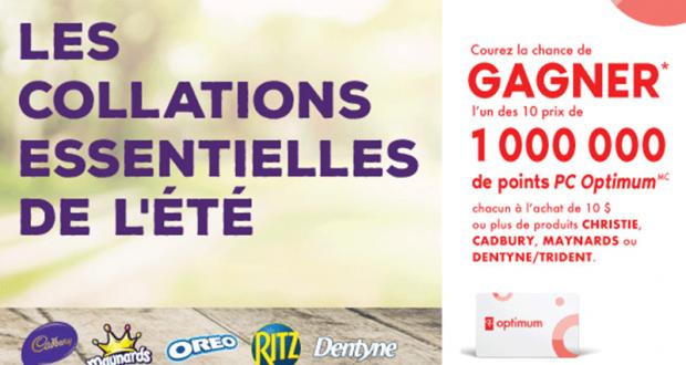 Gagnez L'un Des 10 Prix De 1000000 De Points Pc Optimum