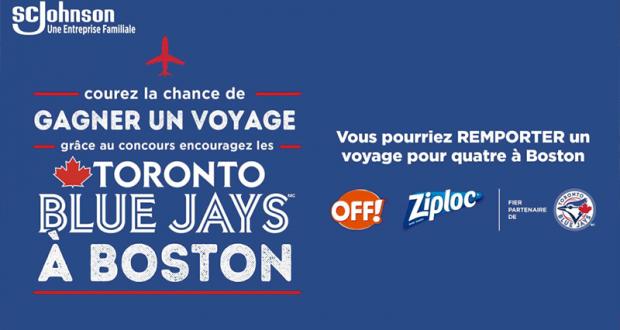 Gagnez un Voyage pour 4 à Boston