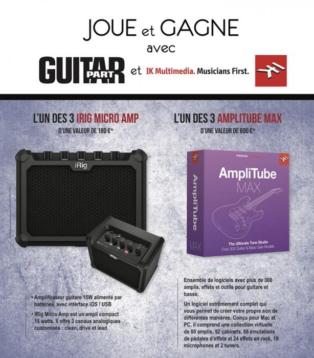 3 logiciels AmpliTube Max