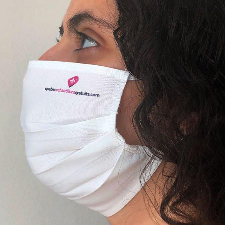 Pack de 3 masques de protection lavables