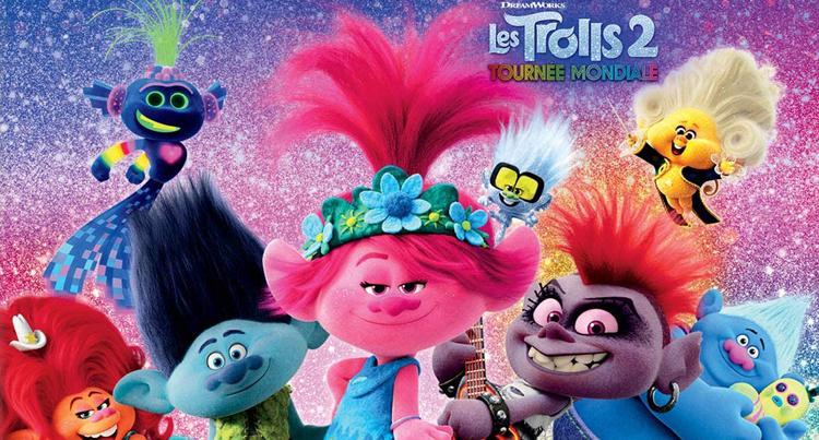 Les Trolls 2 : tournée mondiale en format Blu-ray