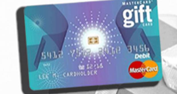 Une carte-cadeau Mastercard prépayée de 50$