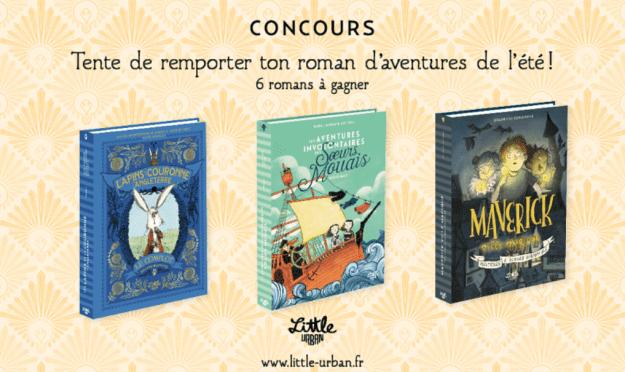 Concours France – 6 romans jeunesse «Little Urban»