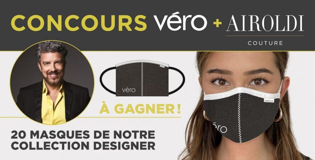 20 Masques En Tissu Airoldi Couture